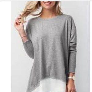 ⭐️Cacia gray blouse